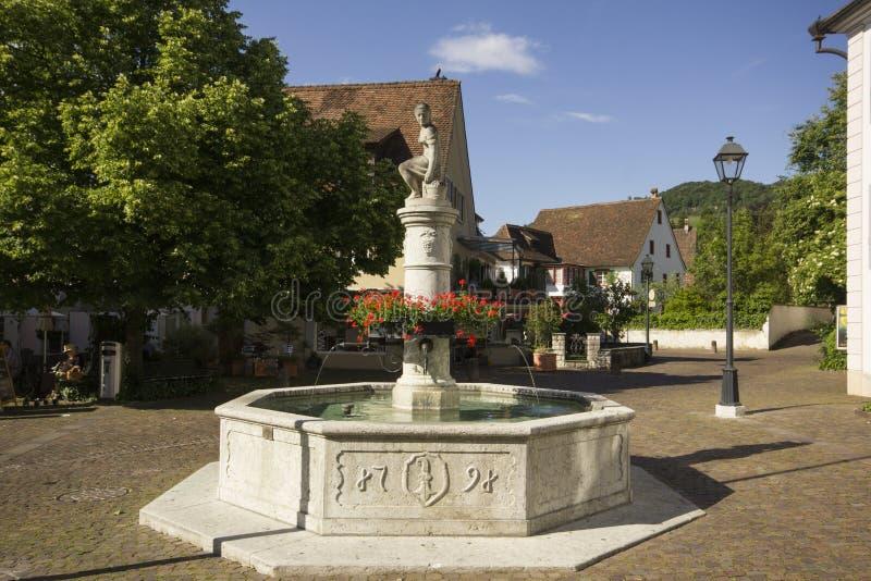Kluis in Arlesheim (Bazel) stock foto's