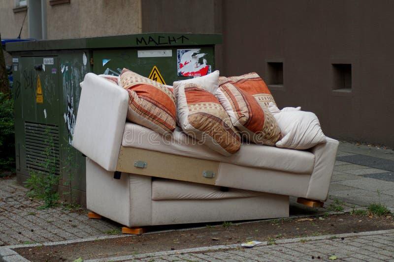 Klumpig avfalls arkivfoto