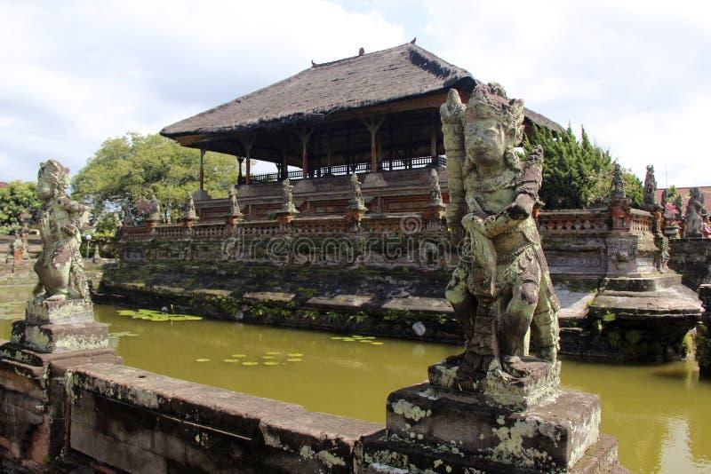 Klungkung宫殿,巴厘岛 图库摄影