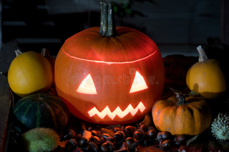 kluseczko halloween. obrazy royalty free
