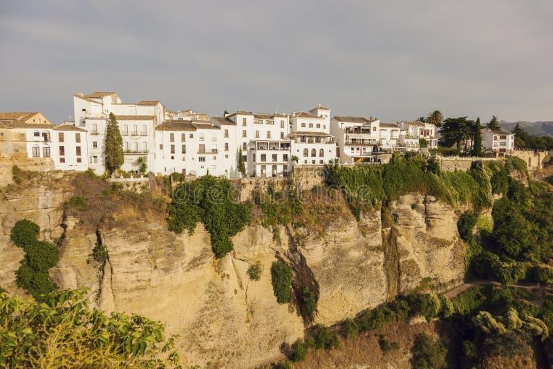 Klyfta för El Tajo i Ronda royaltyfri fotografi