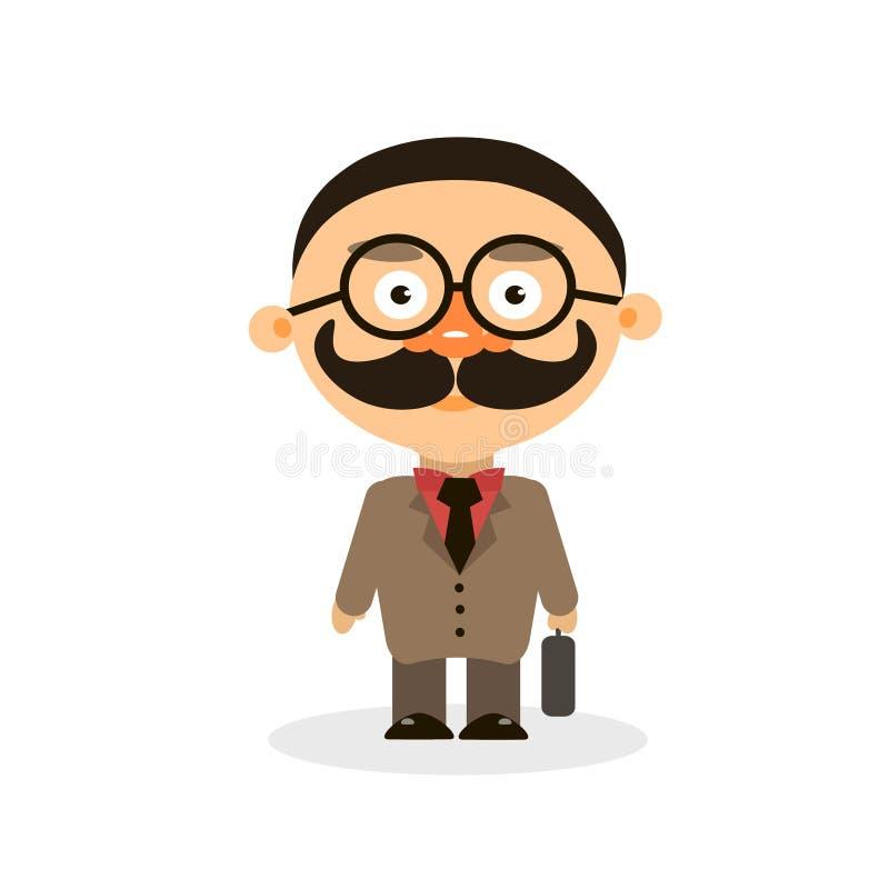 Klyftig taxeringsinspektör vektor illustrationer