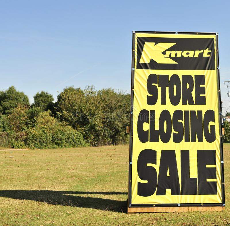 Free Kmart Store Closing Sign Stock Images - 79406004