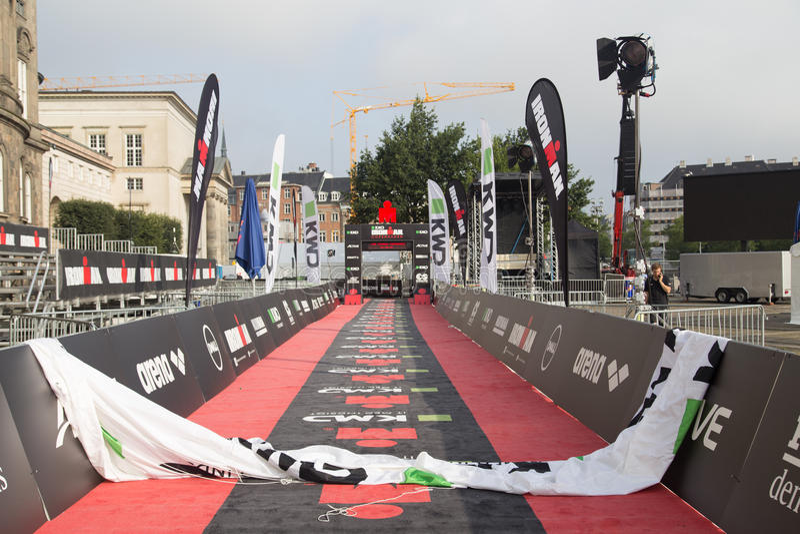 Download KMD Ironman Copenhague 2016 Photo éditorial - Image du cycliste, fitness: 76078621