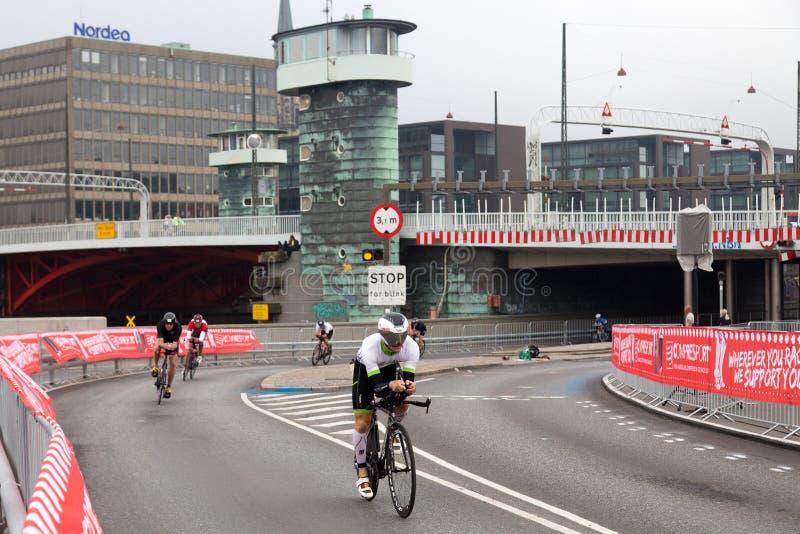 Download KMD Ironman Copenhague 2016 Photo éditorial - Image du vélo, copenhague: 76078651