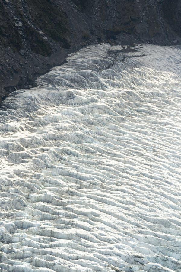 knäcker glaciären arkivfoto