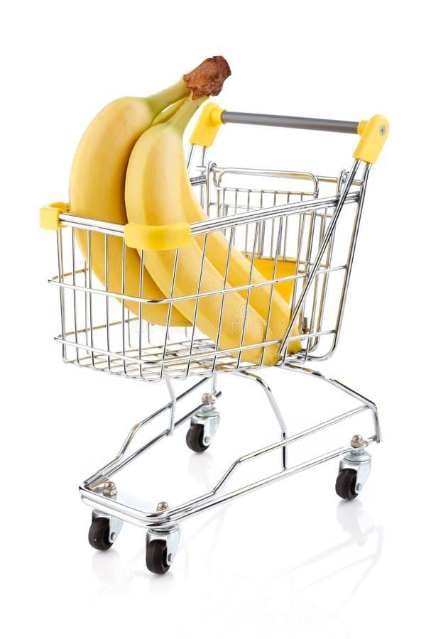 Knäpp Shoppingtrolley Arkivbild