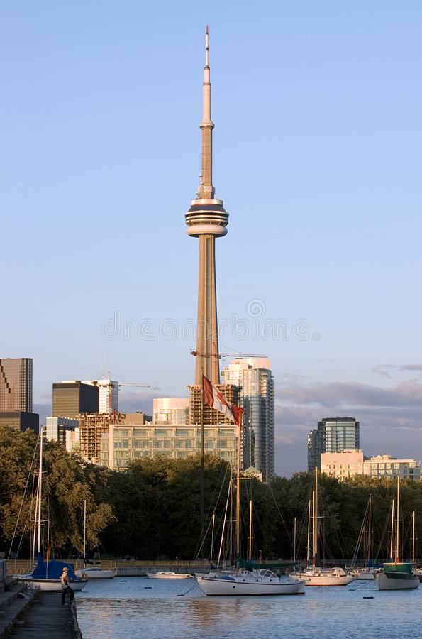 KN-Kontrollturm Toronto stockfotos