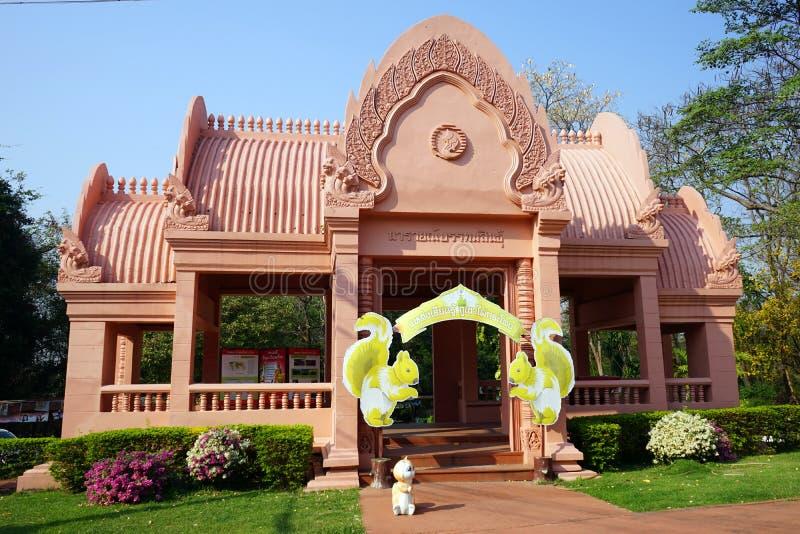 Knacka den buddistiska templet royaltyfria foton
