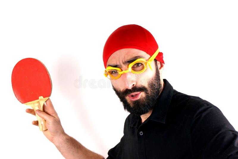 Knacka pong- och simninglocket arkivbilder