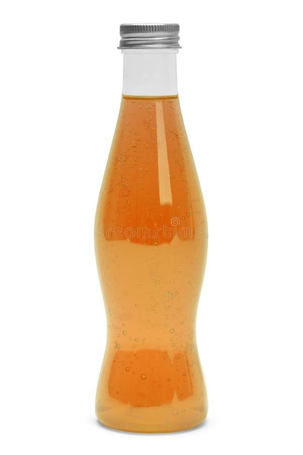 Knall des orange Sodas lizenzfreies stockbild