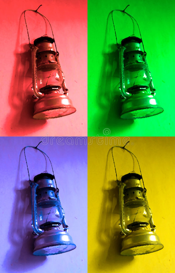Knall-Lampe lizenzfreies stockfoto