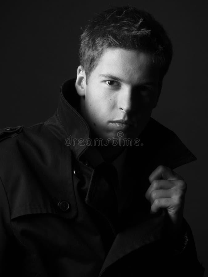 Knap jong mannelijk model royalty-vrije stock afbeelding