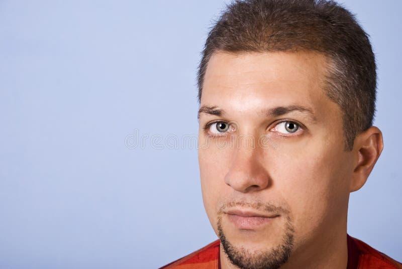 Knap mensengezicht stock fotografie