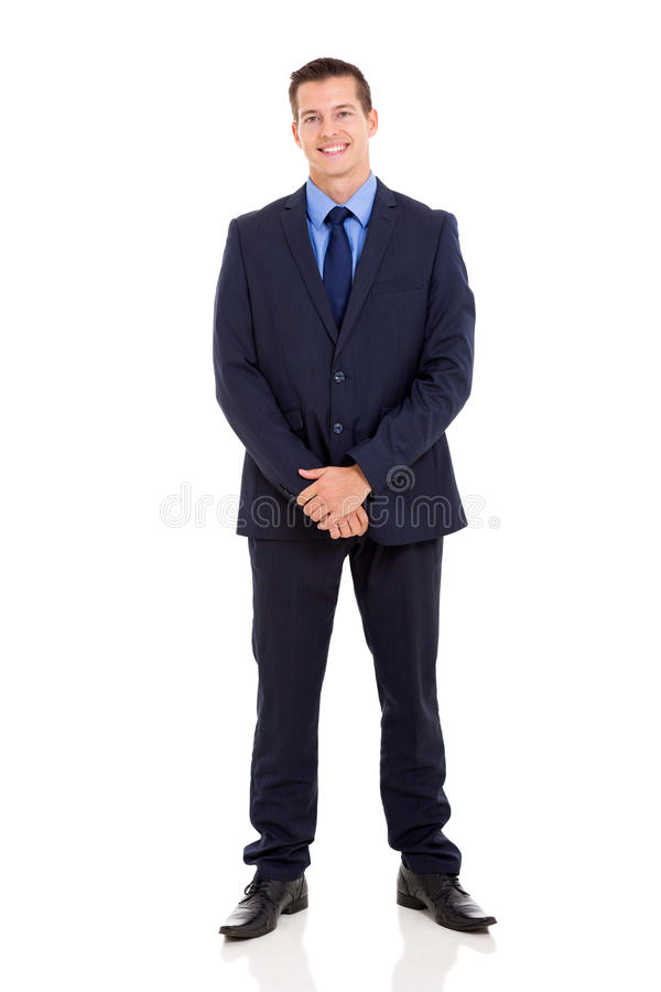 Knap zakenmankostuum stock afbeelding