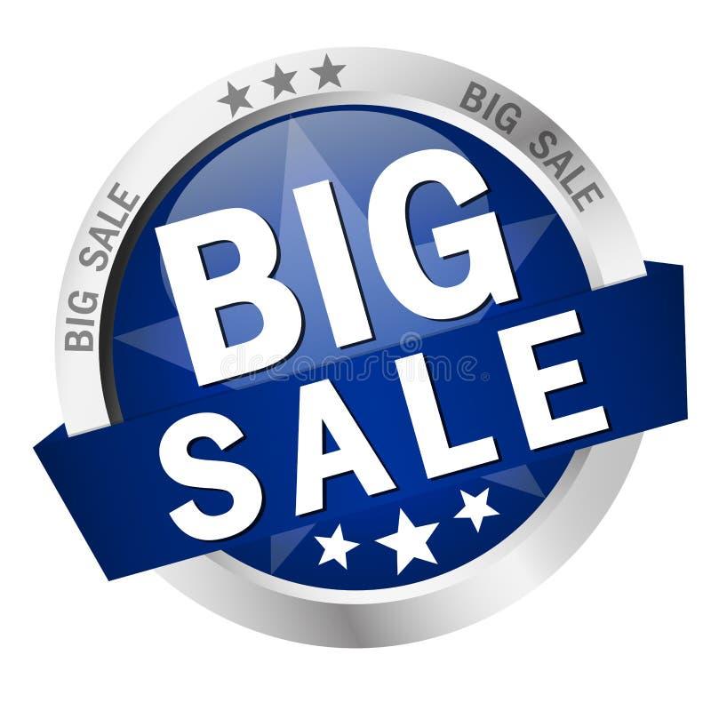 Knapp - stor försäljning vektor illustrationer