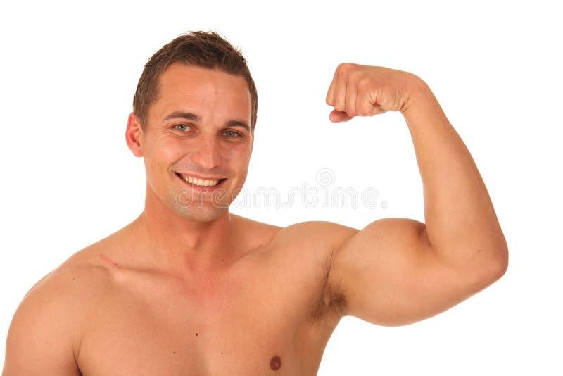 Download Knappe Bodybuilder stock afbeelding. Afbeelding bestaande uit macho - 10777773