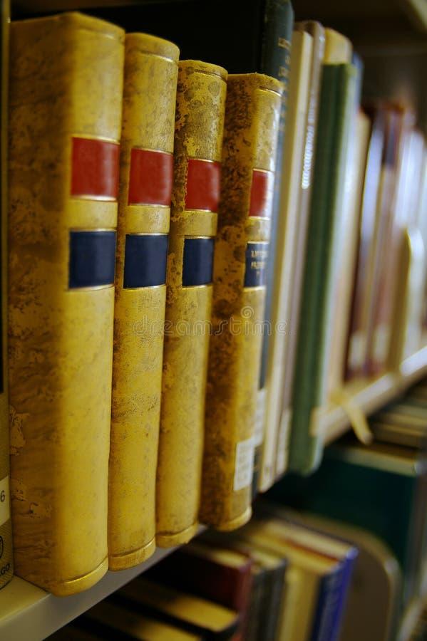 Knappe boeken stock foto