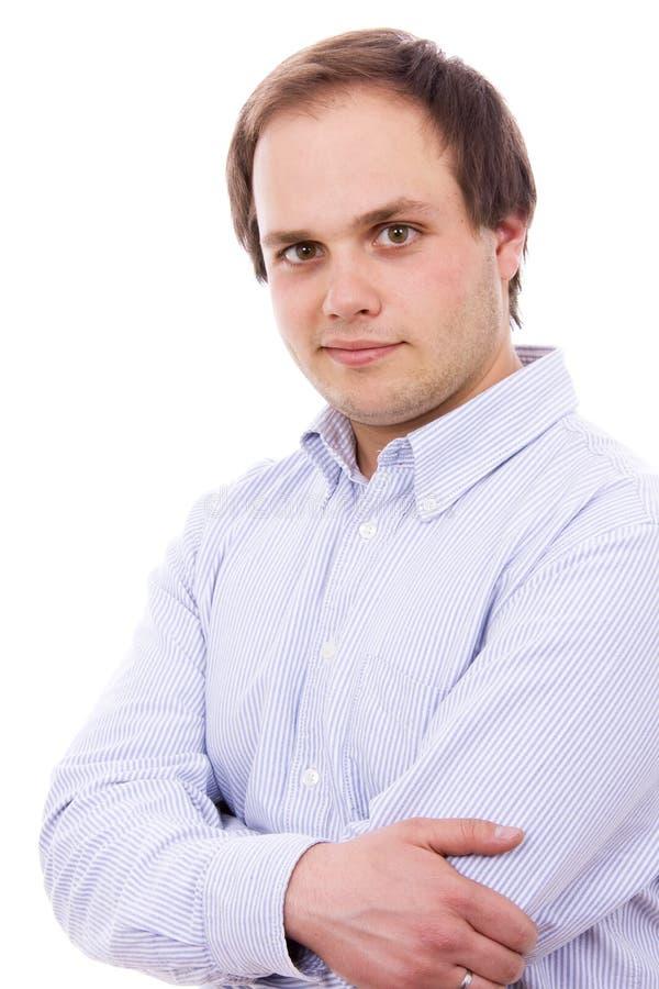 Knappe jonge mens stock fotografie