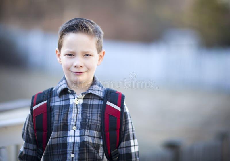 Knappe jongen stock foto's