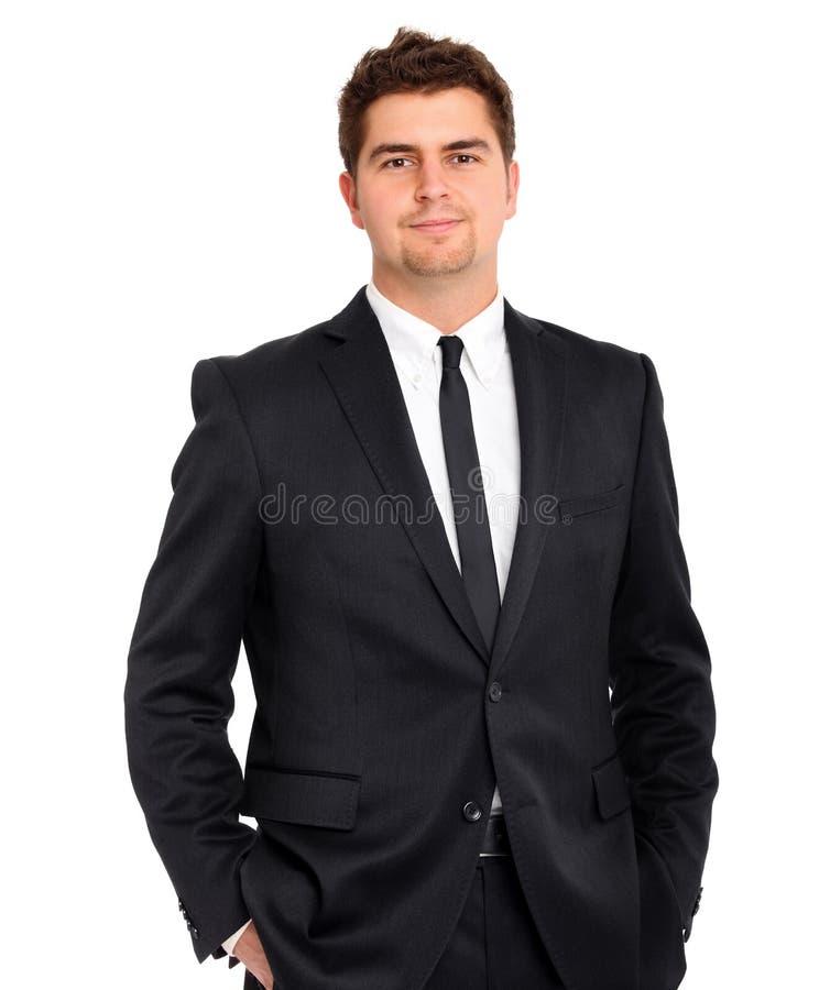 Knappe zakenman royalty-vrije stock fotografie