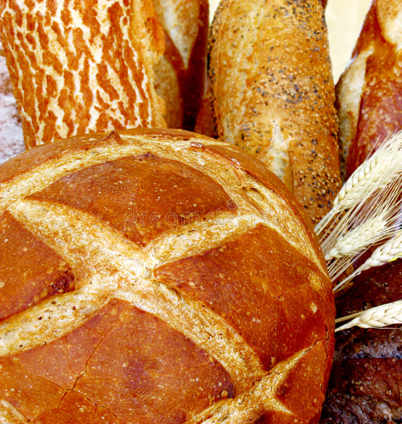 Knapperig Stokbrood royalty-vrije stock afbeelding