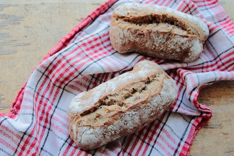Knapperige broodjes royalty-vrije stock afbeelding