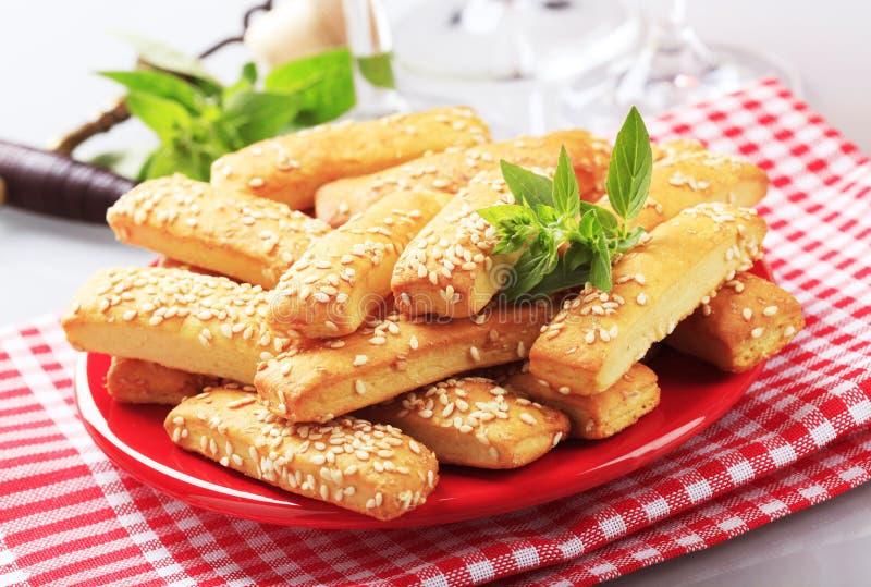 Knapperige snacks royalty-vrije stock fotografie