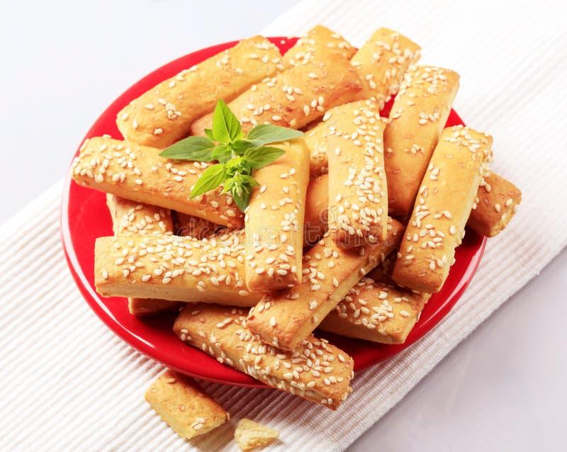 Knapperige snacks royalty-vrije stock foto