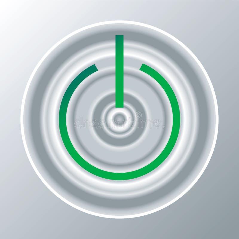 knappström vektor illustrationer