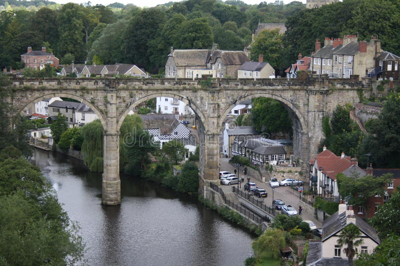 Knaresborough wiadukt obrazy royalty free