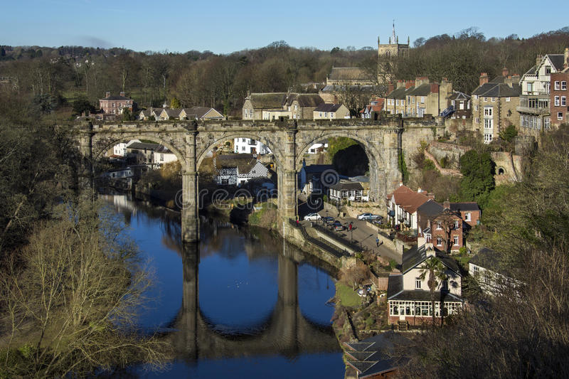 Knearsborough - North Yorkshire - Reino Unido foto de stock royalty free