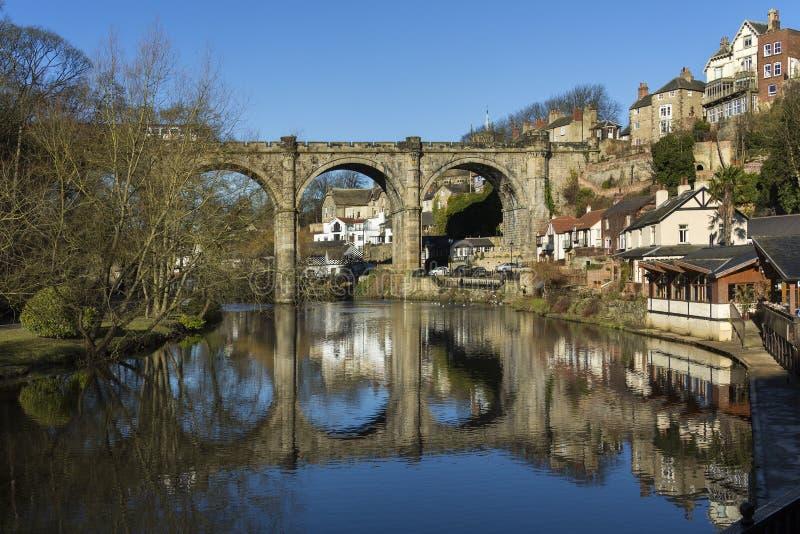 Knearsborough - North Yorkshire - United Kingdom stock photo