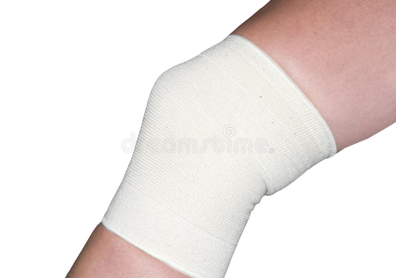 Knee support royalty free stock photos