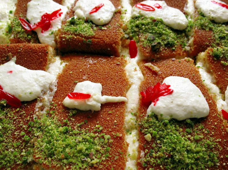 Knefeh Platter royalty free stock images
