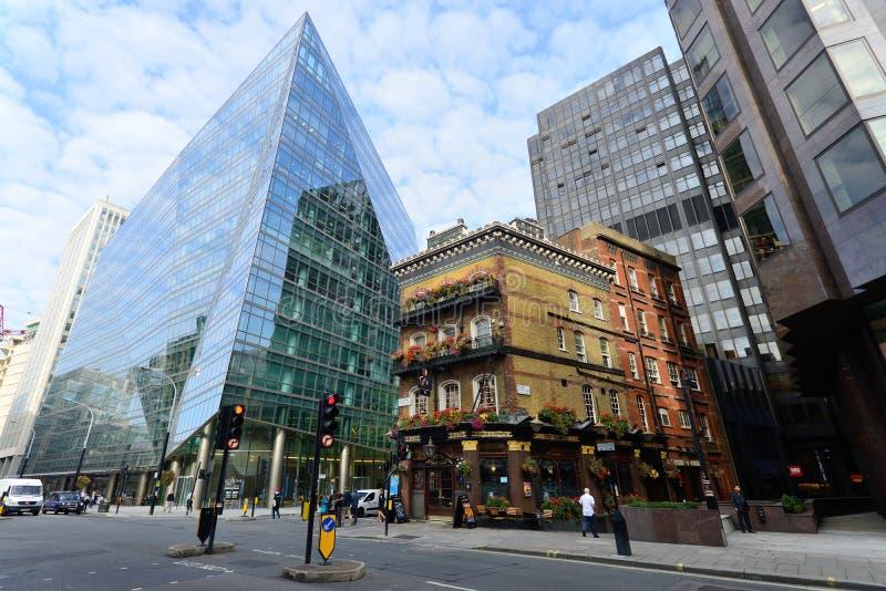 Kneipe in London stockfoto