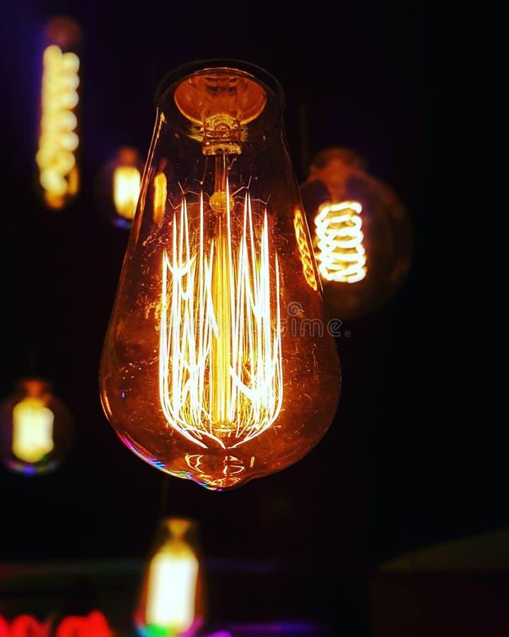 Kneipenlichter stockbilder