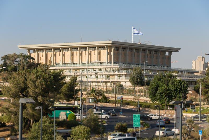 Knesset in Jerusalem stockfoto