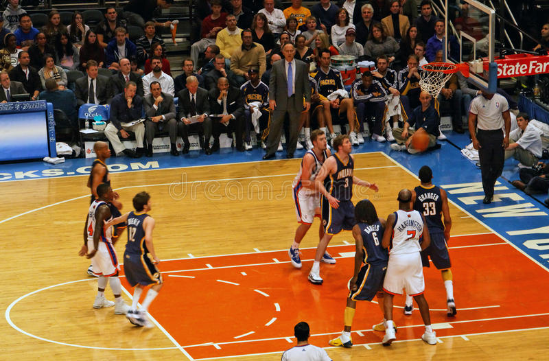 Knicks x Indiana Pacers Madison Square Garden royalty free stock photography