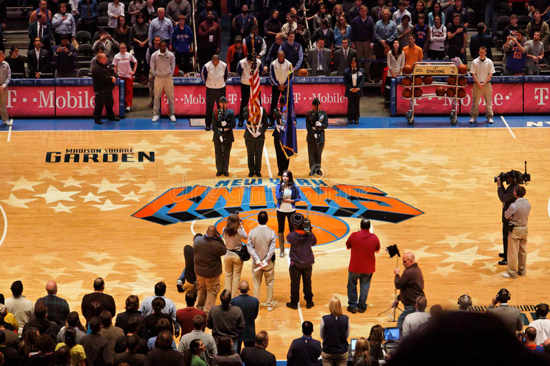 Knicks X Indiana Pacers Madison Square Garden Editorial Photo