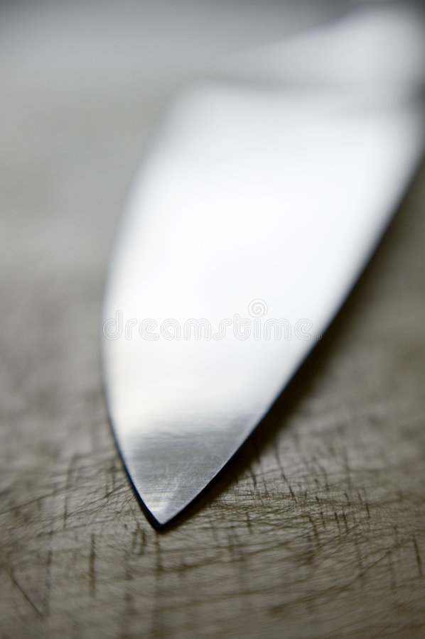 Knife Blade stock photography