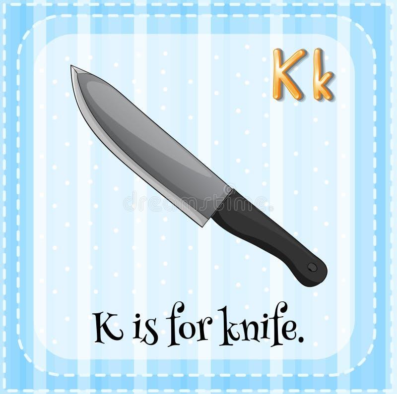 Knife stock illustration