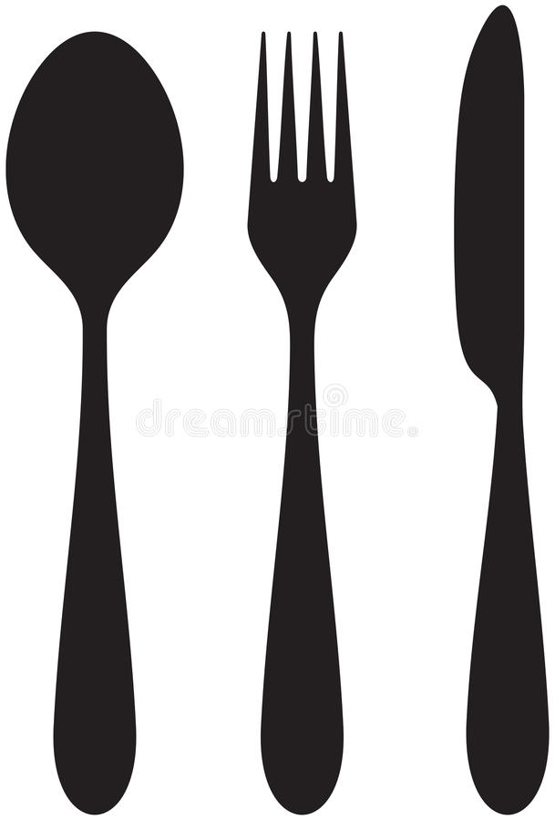 Free Knife, Fork And Spoon Royalty Free Stock Image - 23770686
