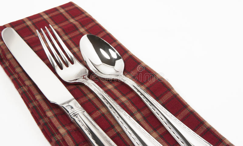 Knife Fork Spoon stock images