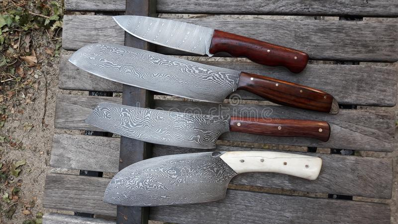 Knife smith royalty free stock images