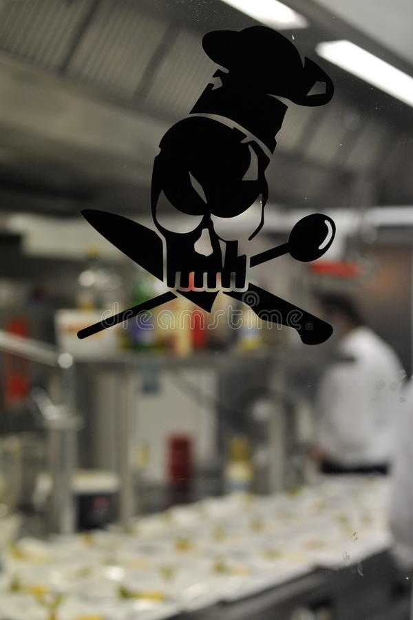 Download Knife And Spoon Chef Decal Royalty Free Stock Image - Image: 23262436