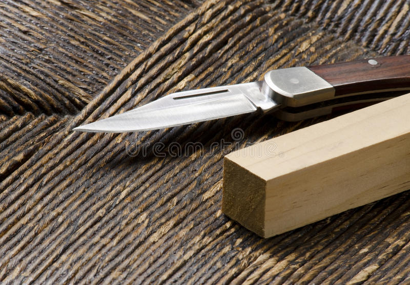 Download Knife and square peg stock photo. Image of knife, blade - 22273064
