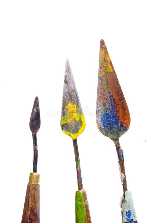 knifes绘 免版税库存照片