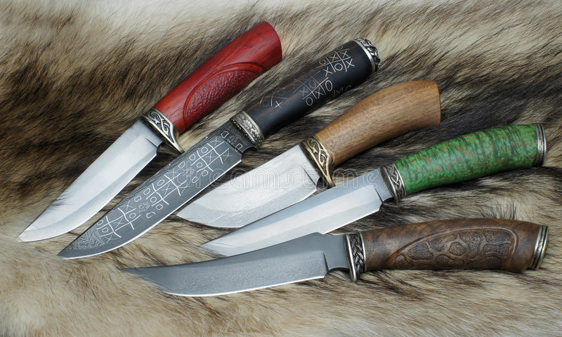 Knifes stock photo