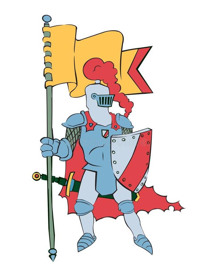 Download Knight stock vector. Illustration of order, shining, knight - 18014332